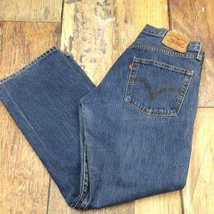 Levis classic Original 501 Jeans Retro Denim 33/30